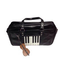 Bolso de hombro Elise JK para mujer, bolso de mano con música de piano, bolso de viaje con Alice stave inside, bolsas únicas