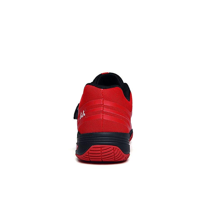 2020 новый бренд с длинным рукавом мужская Профессиональные красная обувь для бадминтона на открытом воздухе Нескользящие Badminto работает кроссовки светильник спортивные Baminton обувь-2