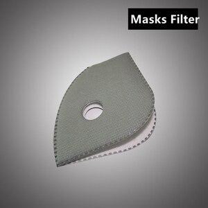 10 шт./лот маска с активированным углем PM2.5, антипылезащитные 6-слойные велосипедные маски для велоспорта, маска с фильтром