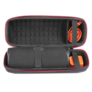 Image 2 - 2019 NEW Hard Travel Case for JBL Charge 4 Wave point Waterproof Bluetooth Speaker only case