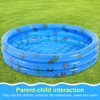 Inflatable Bathtubs Baby Kids Home Outdoor Swimming Pool Bathing Tub Thickened PVC Children Basin Ocean Ball Pool Sport Play Toy