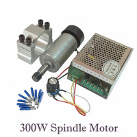 ER11 300W CNC machine Router DC Spindle kit 52MM Clamp Stepper Motor Driver Power Supply