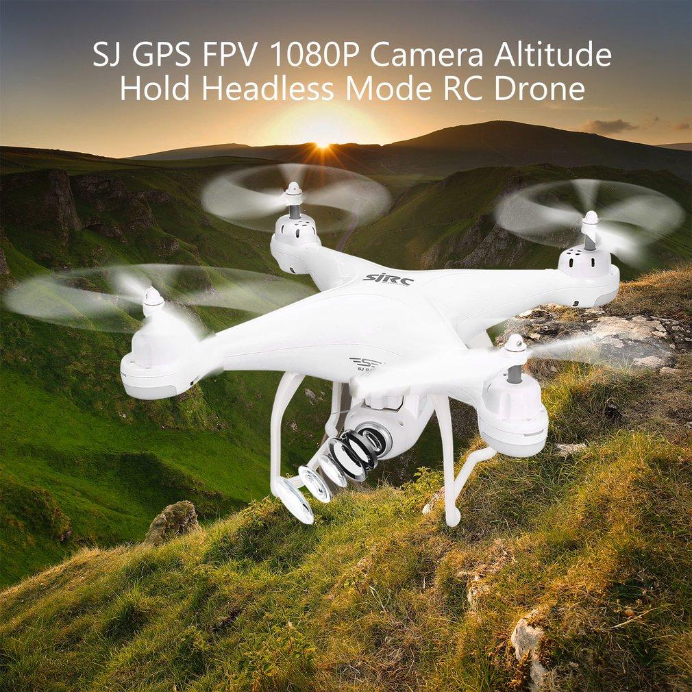 SJ R/C S20W FPV 720P 1080P Kamera Selfie Höhe Halten Drohne Headless Modus Auto Rückkehr Takeoff /landung Hover GPS RC Quadcopter - 4