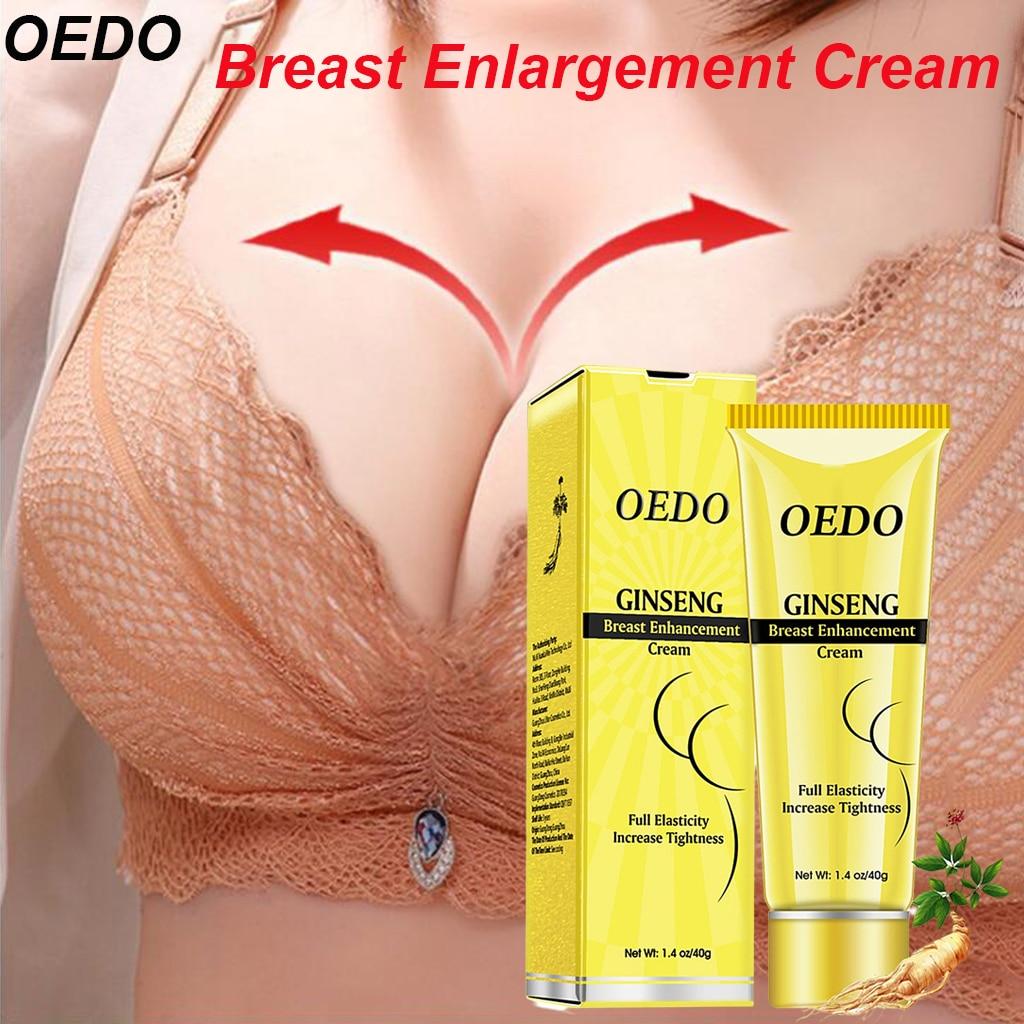 OEDO Ginseng Breast Enlargement Cream Effective Brest Enhancement Cream Bust Fast Growth Boobs Firming Chest Care Massage Breast