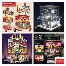 DHL SEMBO City Street SD6900 Apple Store SD6901 4in1 Restaurant House SD6991 night club Building Blocks Bricks  Christmas Toys