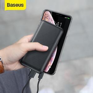 Baseus 20000mah power bank pd 3.0 carregador rápido do telefone móvel usb carregador de bateria externa portátil powerbank para iphone xiaomi