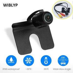 New HD Night Vision Reversing Camera Universal Car Front View Blind Spot Camera Waterproof