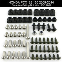 For Honda PCX125 PCX150 2009 2010 2011 2012 2013 2014 Complete Fairing Bolts Kit Side Covering Bolt Clip Stainless Steel