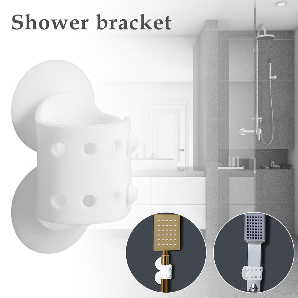 Shower Head Holder Suction Wall Mount Reusable Showerheads Holder For For Baby Seniors Pets Camping Washing Car Accessories