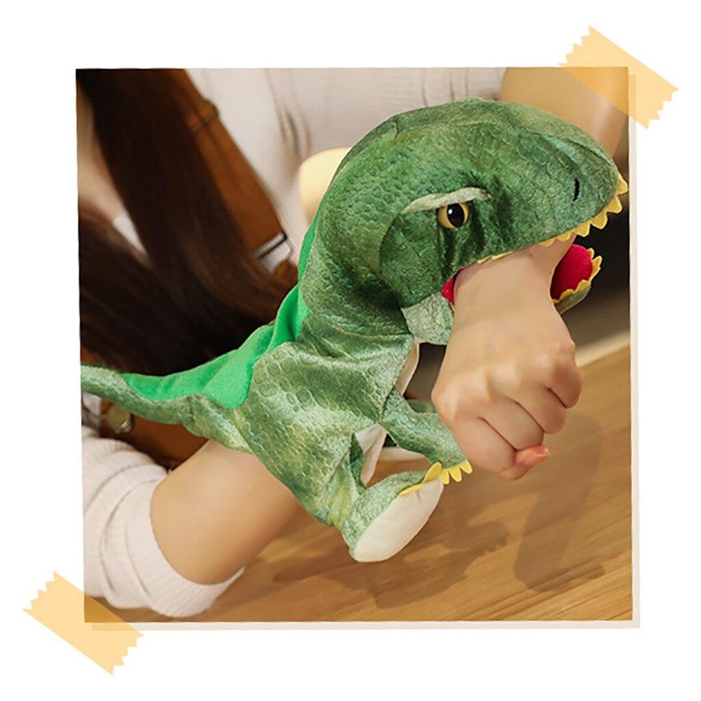 Dinosaurier Mario Handschuh Puppets Handpuppe Theater Puppe Spielzeug Plüsch Puppe Geschichten Reden Juguetes Lernhilfe Lustige Geschenk Kinder