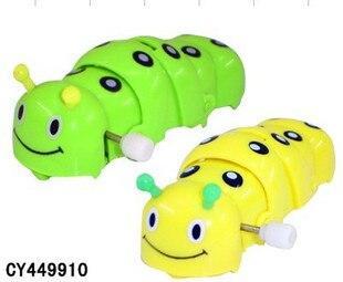80 Nostalgic Classic Winding Spring Caterpillar Winding Little Bugs Children Childhood Toy Gift Memories