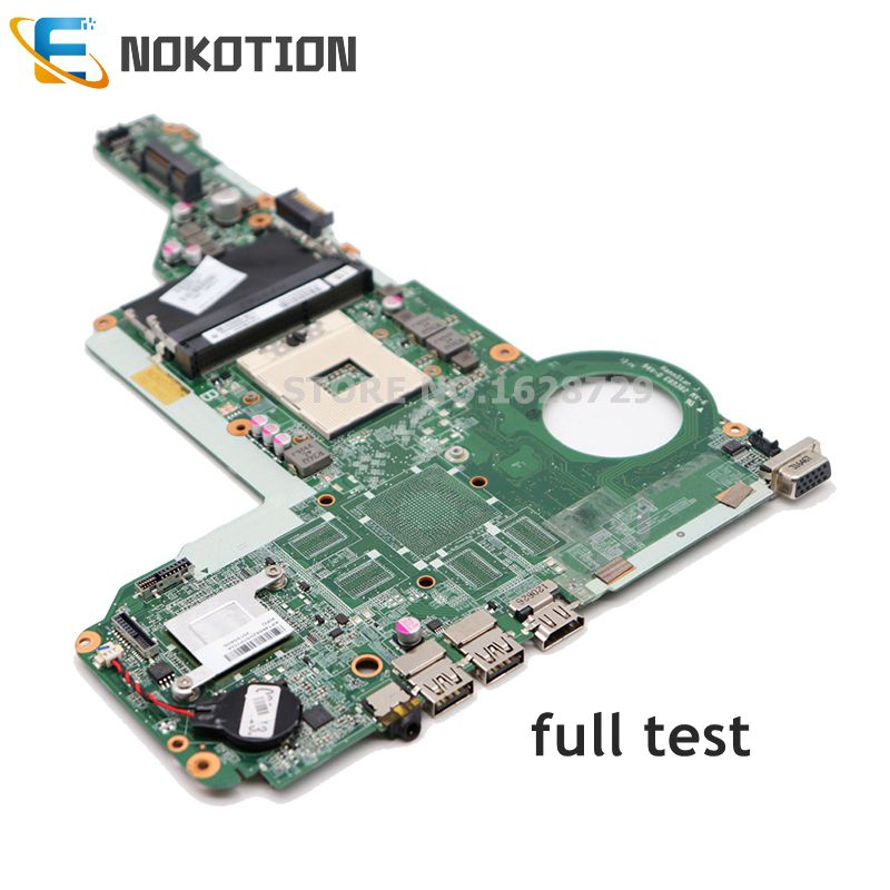 NOKOTION 713257-001 713257-501 DA0R62MB6E1 REV E For HP Pavilion 14 15 17 Series Laptop Motherboard HD4000 Graphics