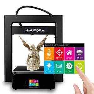 Image 5 - Imprimante 3D JGMAKER JGAURORA A5 mise à jour A5S Kit de bricolage complet en métal extrême haute précision grande taille dimpression 305x305x320mm Impressora 3d