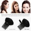 Sponge Hair Bun Clip Maker Princess Styling Hair Fluffy Sponge Pad For Women Elegant Hair Accessories Tools Headwear