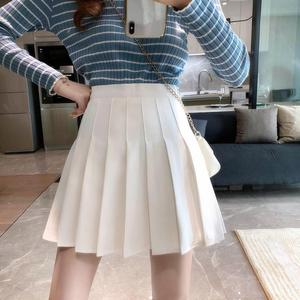 Women Skirt Fashion High Waist Pleated Skirt Sweet Cute Girls Dance Mini Skirt Cosplay Preppy Uniform School Short Skirts XS-3XL
