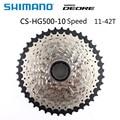 SHIMANO DEORE M6000 CS HG500 10 скоростей DEORE горный велосипед Freewheel MTB кассета Звездочка 11-42T запчасти для велосипеда