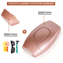1800000 Flash Permanent IPL Epilierer Laser Haar Entfernung depiladora gesichts Elektrische photoepilator Schmerzlos Haar Entferner dropship