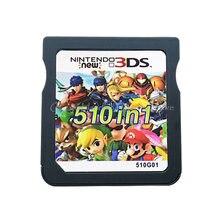 Картридж для игровой консоли для Nintendo DS 3DS 2DS, 510 в 1G01