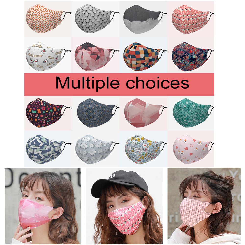 1Pcs Reusable Windproof Mouth Mask Cotton Anti Dust Nose Protection Face Mouth Mask Fashion Anti-Pollution Air Masks New