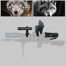 Upgrade Outdoor Hunting Optics Sight Tactical digital Infrared night vision telescope binoculars with  LCD use in day and night hunting night vision riflescope monocular device scope optics sight tactical digital infrared binoculars with flashlight