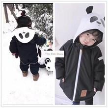 Girlymax ילדים בגדי קו חברים פנדה חליפת שלג בגדי בגדי בני משפחה התאמת בגדים קוריאני סגנון