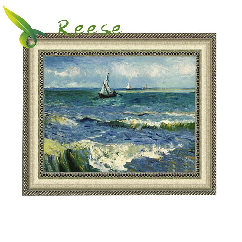 Full Diamond Embroidery Saint Marley 39 s Sea View Diy Diamond Painting Van Gogh Decoration For Living Room A Good Gift For Family in Diamond Painting Cross Stitch from Home amp Garden