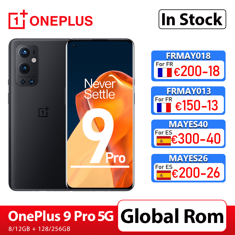 OnePlus 9 Pro 5G Smartphone 8GB 128GB Snapdragon 888 120Hz Fluid Display 2.0 Hasselblad 50MP Ultra-Wide OnePlus Official Store 1