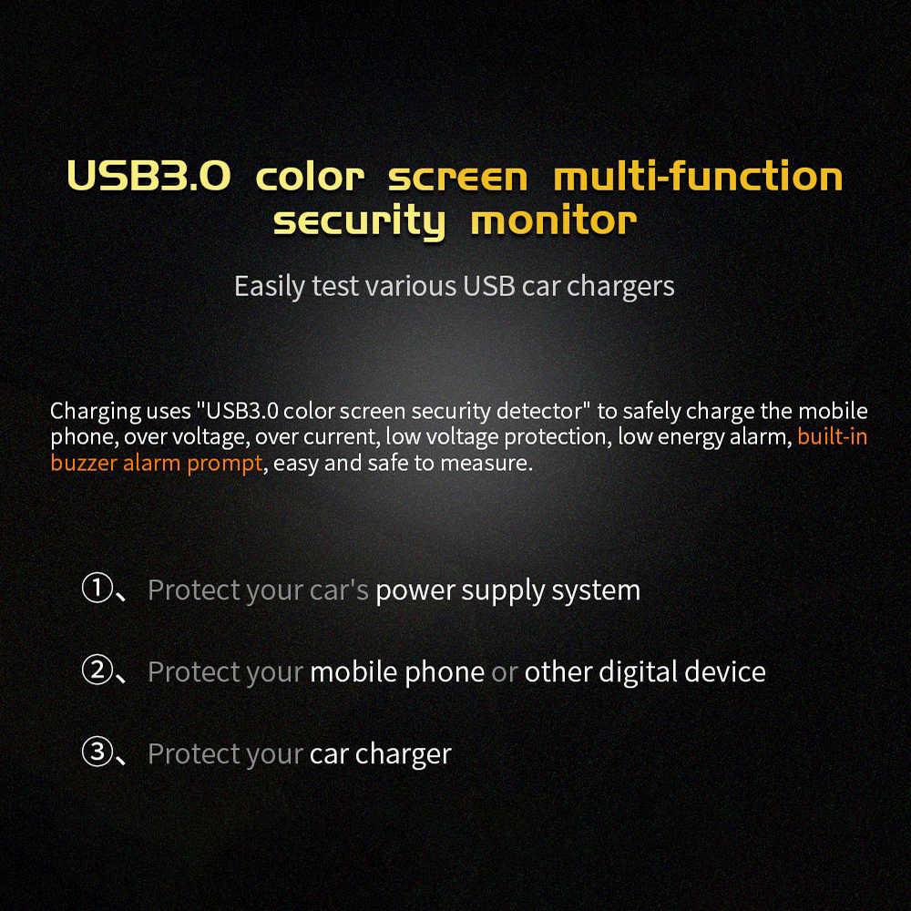Testeur USB FNB18 DC voltmètre numérique ampèreimetro compteur de tension de courant ampèremètre détecteur batterie externe chargeur indicateur