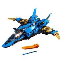 2019 new 549Pcs Ninja Jays Storm Fighter Compatible Ninjagoed 70668 Building Blcoks Toys Figures for Children Gift