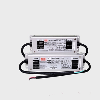 mean well original elg 100 c1050d 105v 1050ma meanwell elg 100 105v 99 75w led driver power supply d type ELG-150-24A Taiwan 150W Waterproof LED with PFC DC DC24V/6.25A Power driver