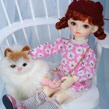 OUENEIFS Hebbe BJD YOSD Doll 1/6 Model ciała dziewczynek chłopców wysokiej jakości zabawki sklep żywica prezent gwiazdkowy nowy rok prezent