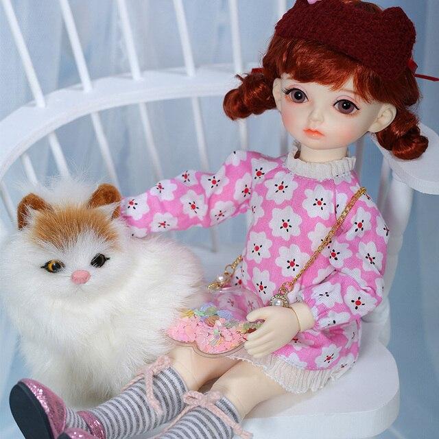 OUENEIFS Hebbe BJD YOSD bebek 1/6 vücut modeli bebek kız erkek yüksek kaliteli oyuncaklar dükkanı reçine noel hediyesi yeni yıl hediye