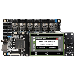 3D Printer Board Arm 32Bit Controller Motherboard For 3D Printer Control Mainboard Contact Screen Kit Diy Ntc100K Pt100 Tmc2208