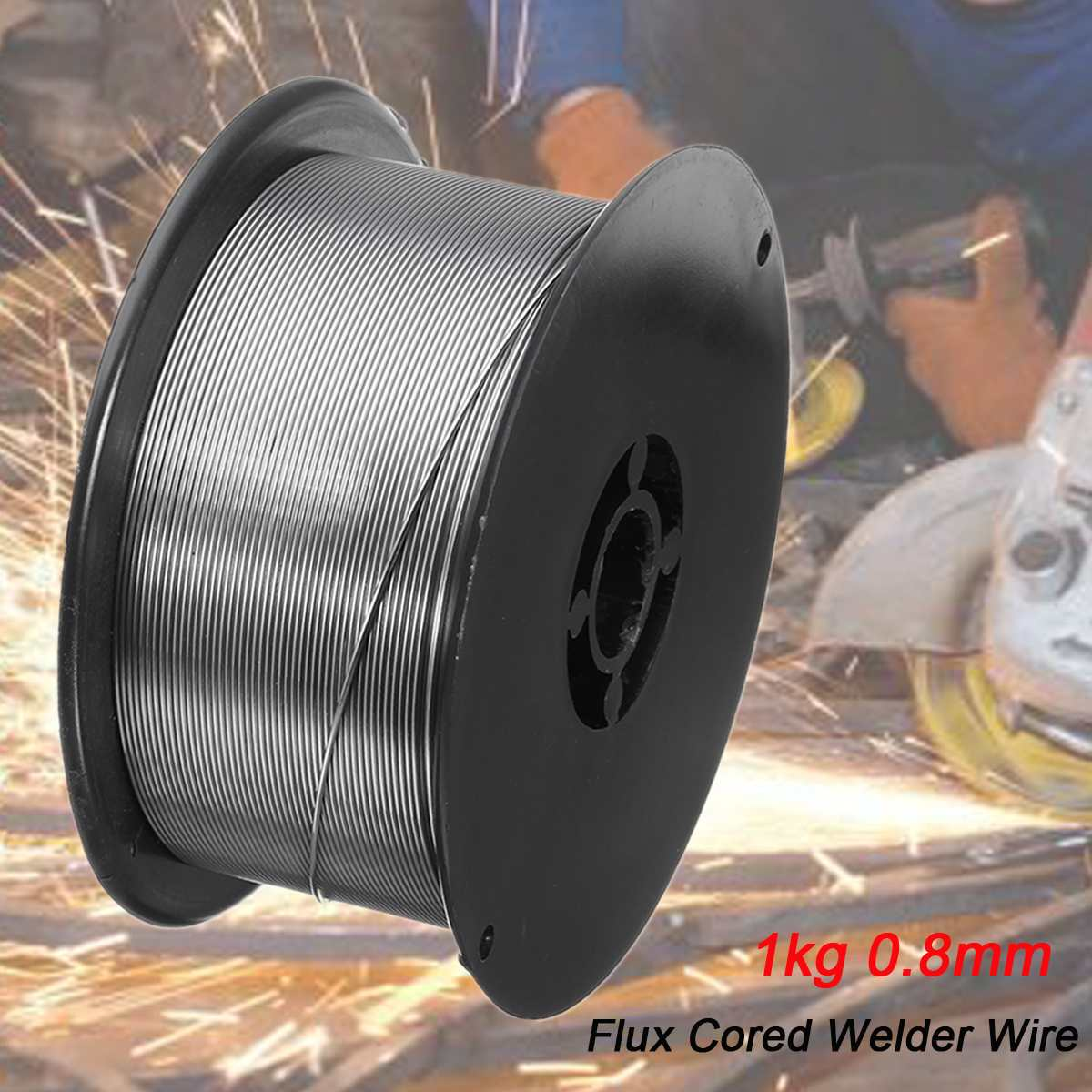 0 Welder 8mm For Chemical General MIG Welding Food Roll Wire Cored Solid 9mm 1mm 0 1 1 1KG Tools 2mm Equipment