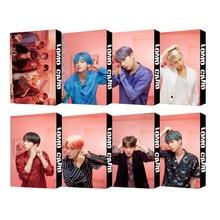 K pop Bangtan boys kawaii альбом карта персонажа ломо карты kpop фотокниги бродячие дети kpop