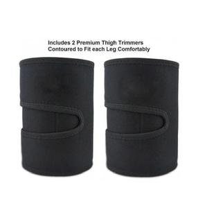 Image 5 - Neoprene Leg Shaper Sauna Sweat Thigh Trimmers Calories off Anti Cellulite Slimming Legs Fat Thermo Compress Belt Face Lift