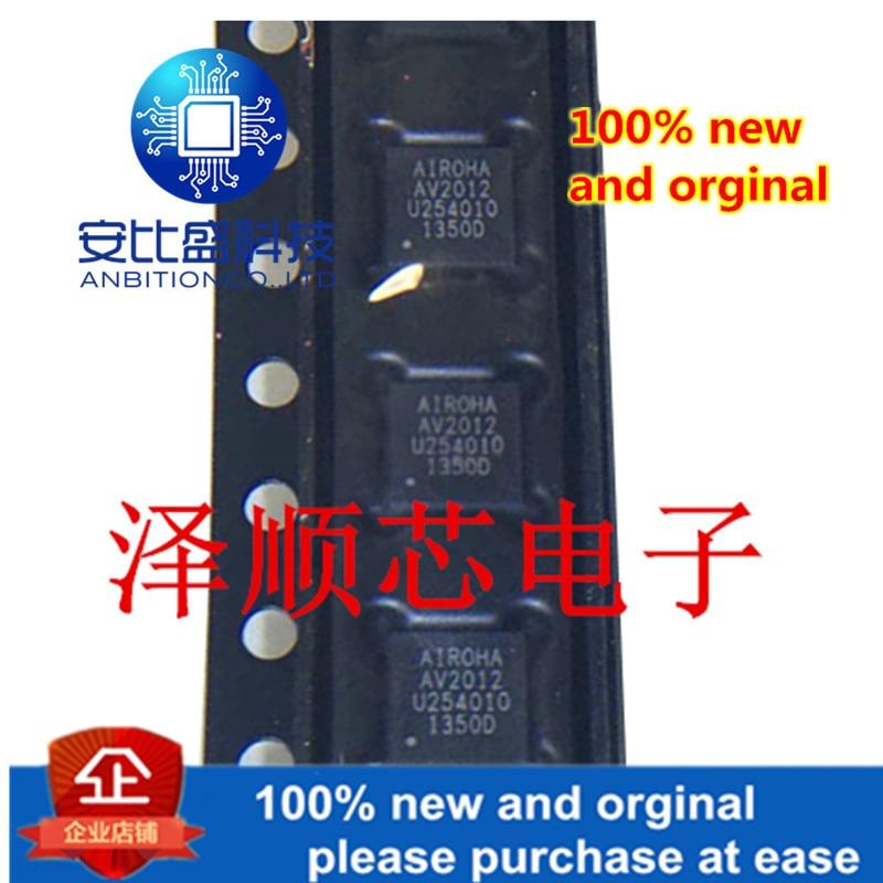 10pcs 100% New And Orginal AV2012-S85QEG Screen Printing Av2012 Patch Qfn28 Foot Satellite Set Top Box Demodulator Original