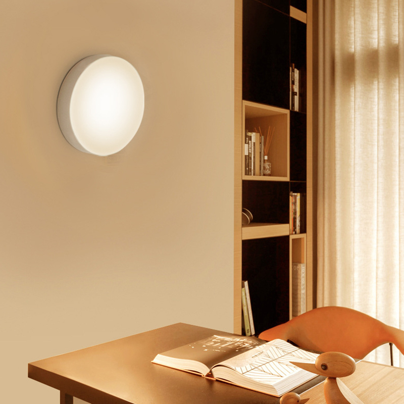 LED Night Lamp With Motion Sensor/Stepless Dimmer Magnetic Rechageable 6leds Night Lights For Home Cabinet Bedroom Kids Light