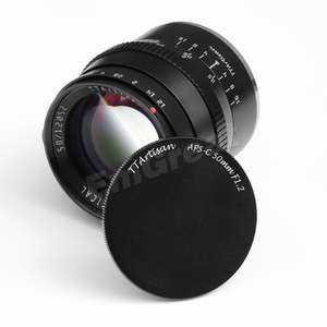 Image 2 - Ttartisan 50Mm F1.2 Grote Diafragma APS C Lens Voor Sony E Mount Fujifilm M4/3 Camera A6600 A6500 a7 X T4 X T3 X T30 Handmatige Focus