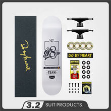SK8ER Completato Skate Board 8.25 8.125 8.0 di pollice di Skateboard Ruote & Camion & Cuscinetti A Doppio Bilanciere Accessori di Skateboard
