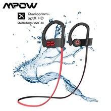 Mpow Flame S – écouteurs sans fil Bluetooth V5.0, Version améliorée aptX HD, oreillettes IPX7 étanches et 8.0 antibruit, micro