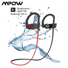 Mpow Flame S 무선 블루투스 이어폰 업그레이드 버전 aptX HD 블루투스 V5.0 이어 버드 IPX7 방수 및 8.0 소음 차단 마이크