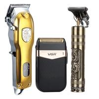 2021 tagliacapelli Set tagliacapelli elettrico rasoio Cordless Trimmer uomo barbiere tagliatrice di capelli per uomo ricaricabile USB