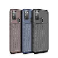 style protective For Samsung Galaxy M30S Case Business Style Silicone Shell TPU Back Phone Cover For Galaxy M30S Protective Case For Samsung M30S (1)