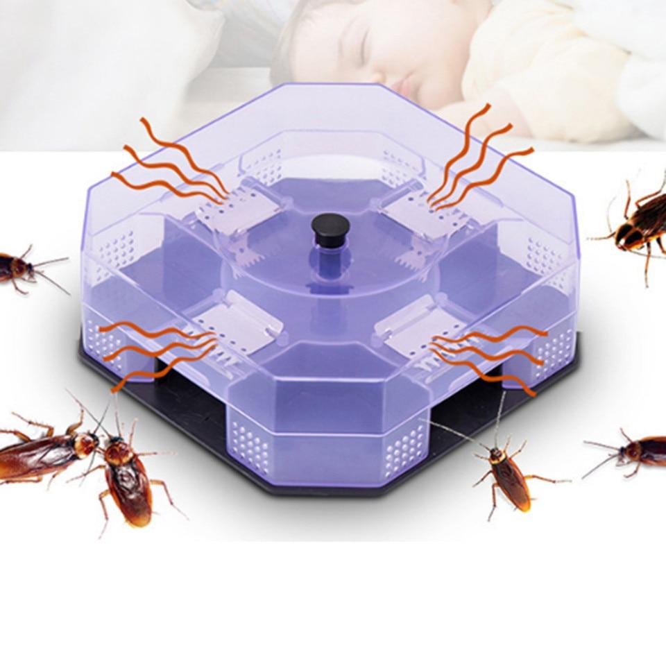 CloverUS Cockroach Trap Fifth Upgrade Safe Efficient Anti Cockroaches Catcher Killer