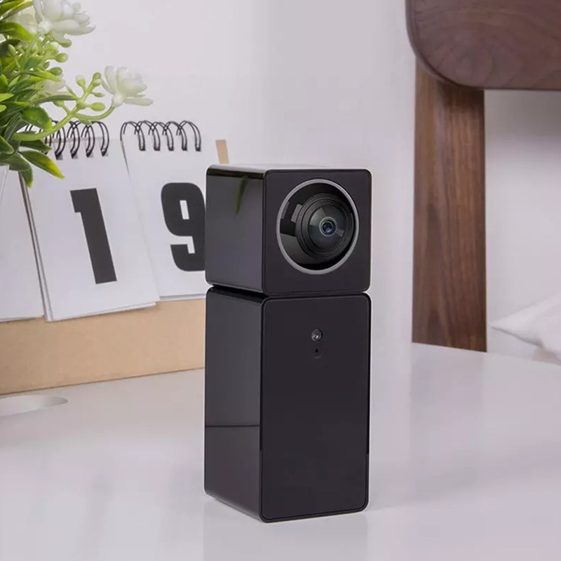 Xiaomi Xiaofang Camera Dual Lens Version Panoramic Smart Network IP Camera Four Screens in One Window Two-way Audio Support VR image