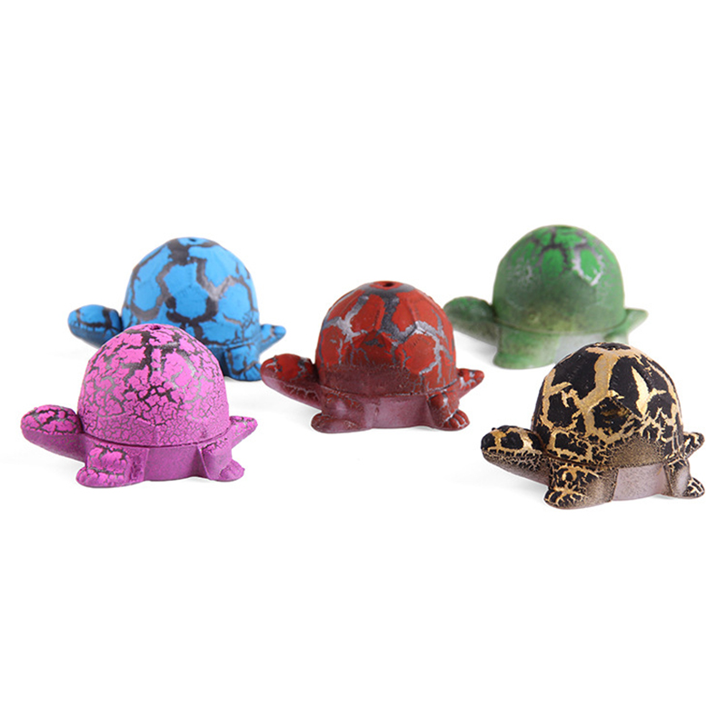 5 Pcs Cute Magic Hatched Tortoise Eggs Water Growing Animal Novelty Educational Gag Toy For Kids Gifts New