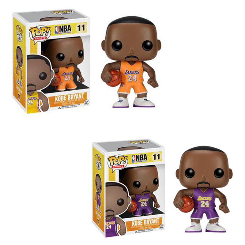 FUNKO POP Basketball Starblack Mamba Kobe Action Figure Collectible Model Toy For Fans