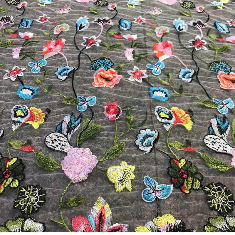 Africano francês tecido de renda alta qualidade tule tecido renda líquida para vestido, nigeriano diy tecido guarnição retalhos vestido costura laços