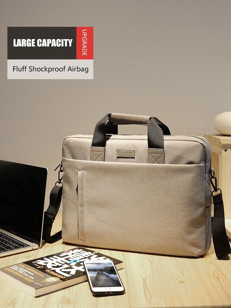 Laptop Bag case 13.3 14 15.6 17.3 inch Waterproof Notebook Bag for Macbook Air Pro 13 15 Computer Shoulder Handbag Briefcase Bag 4